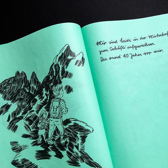 Lika Berlin vergiss dich nicht graphic novel demenz lika nüssli lika nüssli